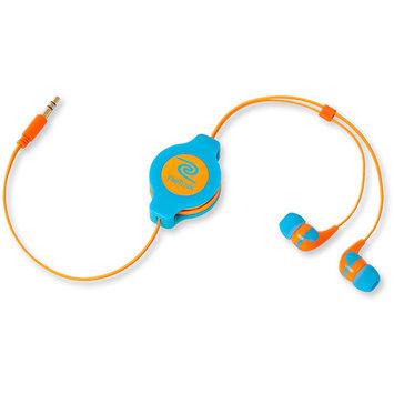 Retrak NEON Retractable Earbud Headphones