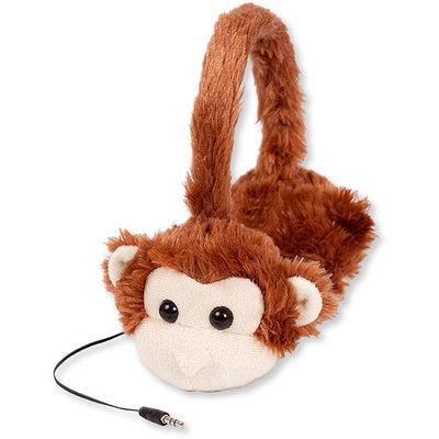 Retrak - Animalz Monkey Over-the-ear Headphones - Brown