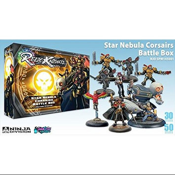 Soda Pop Minis 145001 Relic Knight - Star Nebula Corsairs Battle Box