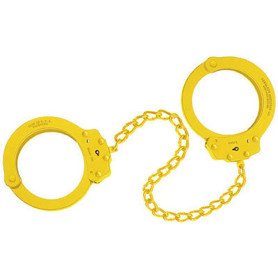 Peerless Handcuffs Peerless Handcuff Company 753B Leg Iron, Red