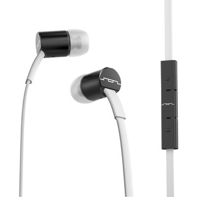 Sol Republic Jax In-Ear Headphones - White and Black