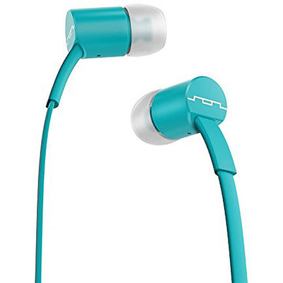 Sol Republic Turquoise 1112-76 Jax In-Ear Headphones with Single-Button Remote and Microphone
