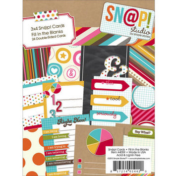Simple Stories Sn@p! Double-Sided Quote Cards, 3