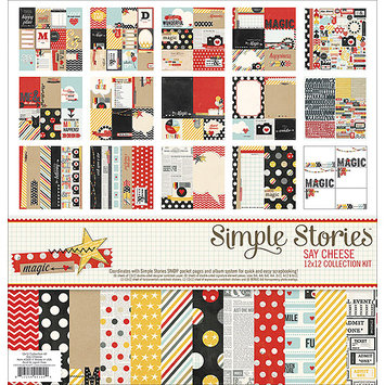 Simple Stories Collection Kit 12X12-Say Cheese