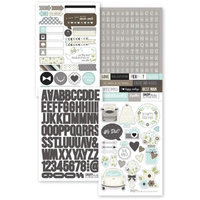 Simple Stories SNAP4202 Sn@p Stickers 4 in. x 6 in. Sheets 4-Pkg-Wedding