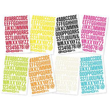 Simple Stories DIYSTK-5142 DIY Stickers 4 in. x 6 in. Sheets 8-Pkg-Words