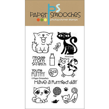 Paper Smooches J3S107 Paper Smooches 4 in. X6 in. Clear Stamps-Squeaky Clean