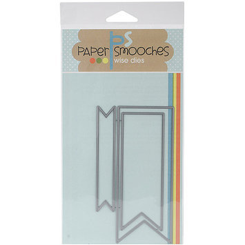 Paper Smooches Die-Flag Tags
