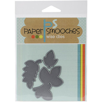Paper Smooches Die-Reflections Leaves