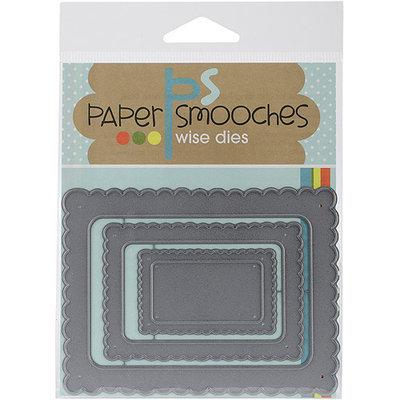 Paper Smooches Die-Scallop Frames