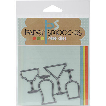 Paper Smooches Die-Drink Glasses