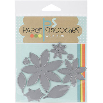 Paper Smooches Die-Poinsettia