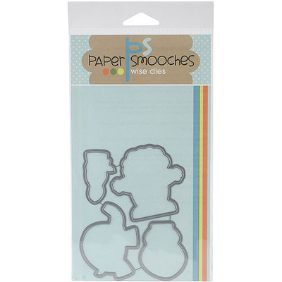 Paper Smooches Die-Circus