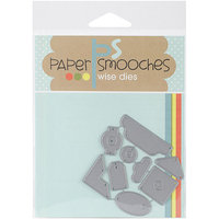 Paper Smooches Die-Toppers