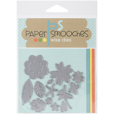 Paper Smooches Die-Flowers