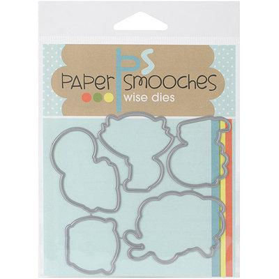 Paper Smooches Die-Posse