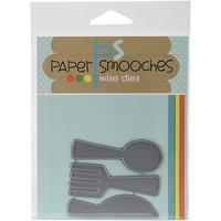 Paper Smooches Die-Flatware