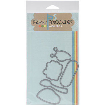 Paper Smooches Die-Healthy Vibes