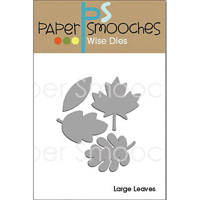 Paper Smooches Die-Large Leaves