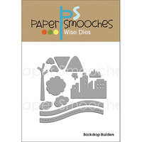 Paper Smooches Die-Backdrop Builders