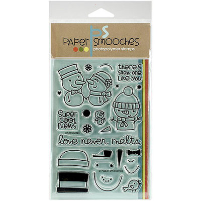 Paper Smooches 4inX6in Clear StampsCool Dudes
