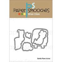 Paper Smooches Die-Santa Paws