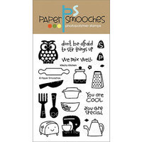 Paper Smooches 4inX6in Clear Stamps-Kitschy Kitchen