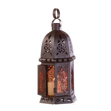 Petite Moroccan Candle Lamp