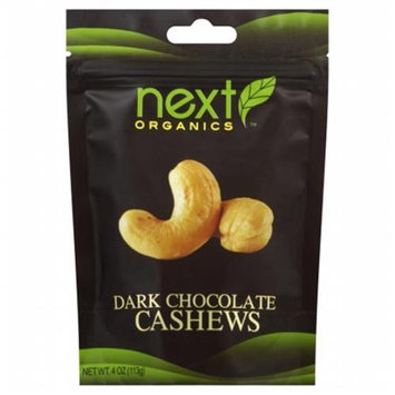 Next Organics Dark Chocolate Cashews - 4 oz