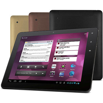 Ematic 9.7 EXP8 IPS Google Android 4.0 Multimedia HD Capacitive Tablet Copper