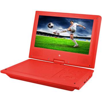 Xo Vision Ematic Epd909 Portable Dvd Player - 9 Display - 640 X 234 - Teal - Dvd-r, Cd-r - Jpeg - Dvd Video, Video Cd, Mpeg-4 - Cd-da, Mp3 - 1 X Headphone Port[s] - Lithium Polymer - 2 Hour (epd909tl)