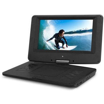 Xo Vision Ematic Epd133 Portable Dvd Player - 13.3 Display - 1366 X 768 - Black - Dvd-r, Cd-r - Jpeg - Dvd Video, Video Cd, Mpeg-4 - Cd-da, Mp3 - 1 X Headphone Port[s] - USB - Lithium Polymer - 2 (epd133bl)