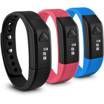 Ematic SB312BL Wireless Activity Tracker Blk