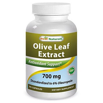 Best Naturals Olive Leaf Extract, 700 Mg, 90 Capsules