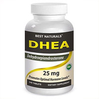 Best Naturals DHEA, 25 Mg, 240 Tablets