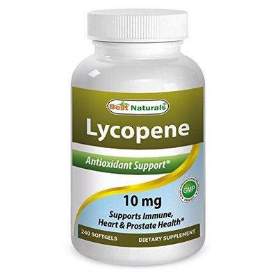 Best Naturals Lycopene, 10mg, 240 Softgels