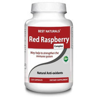 Best Naturals Red Raspberry Complex 800 mg, 120 Capsules