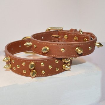 Kane & Couture Bubba Dog Butch Collar Color: Black, Size: Large (0.2