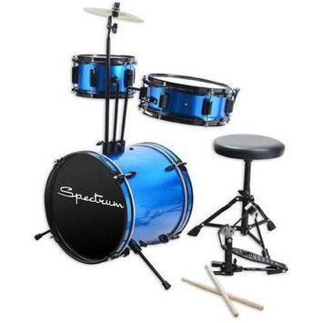 Piecell Spectrum AIL 610B Junior Drum Kit, Blazin' Blue