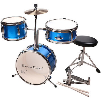 Piecell Spectrum Junior Drum Kit in Electric Blue