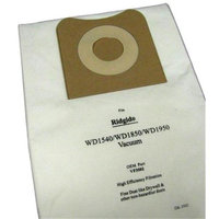 Green Klean Replacement Vacuum Cleaner Bags for Ridgid WD1450/1850/1950; Pro Team ProGuard 15/20 wet/dry vacuum