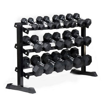 JFit Horizontal Dumbbell Rack