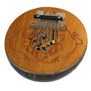 The Drum Works X8 Drums Coconut Kalimba Thumb Piano