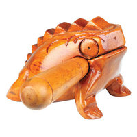The Drum Works Ribbit Frog Statue