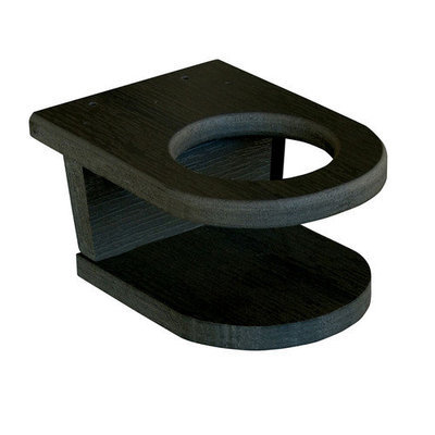 Highwood Usa Adirondack Screw-on Cup Holder Attachment Finish