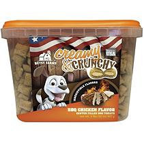 Betsy Farms Creamy and Crunchy Dog Treats (32 oz. Tub)