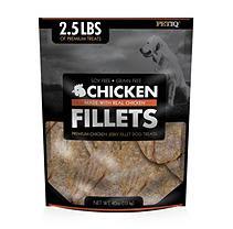 PetIQ Premium Chicken Jerky Fillet Dog Treats, 2.5 lbs.