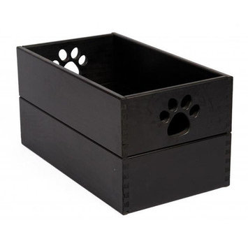 Dynamic Accents Pet Toy Box in Antique Black
