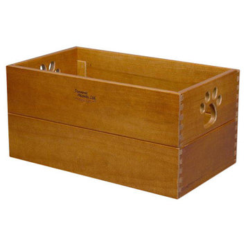 Dynamic Accents 42134 Small Pet Toy Box Artisan Bronze