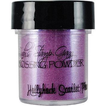 Lindy's Stamp Gang Lindys Stamp Gang LSG-EP-57 Lindys Stamp Gang 2-Tone Embossing Powder .5oz Jars-Hollyhock Scarlet Plum